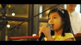 Amazing LIVE performance of a 6 year old (GTXperiment - Highdrated (feat Megan Khoo)