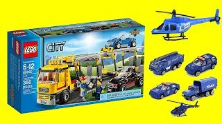 Huge Collection of Police Cars and Transporter Trucks, Lego City Toys, Hot Wheels Toys, Lots of Toys
