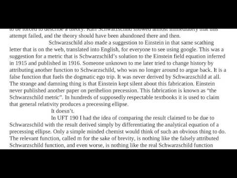 Essay 53   Simple and Clear Refutations of Einstein's General Relativity