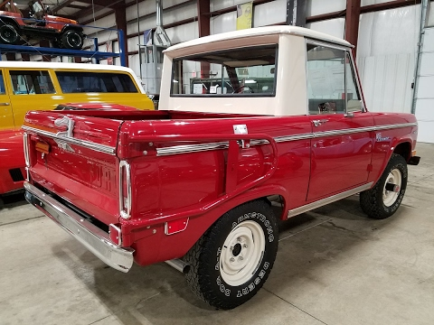 1969 Ford Bronco half cab truck appraisal pre purchase inspection 800-301-3886