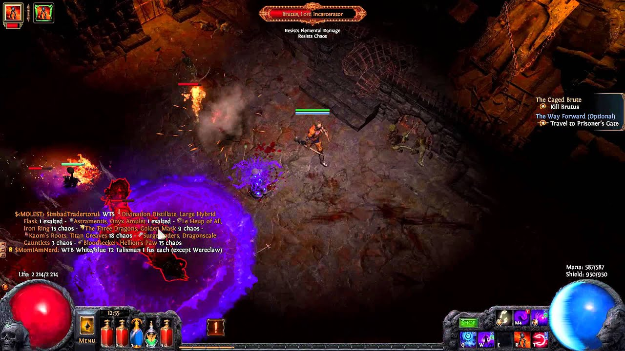 path of exile 2 1 contagion essence drain youtube