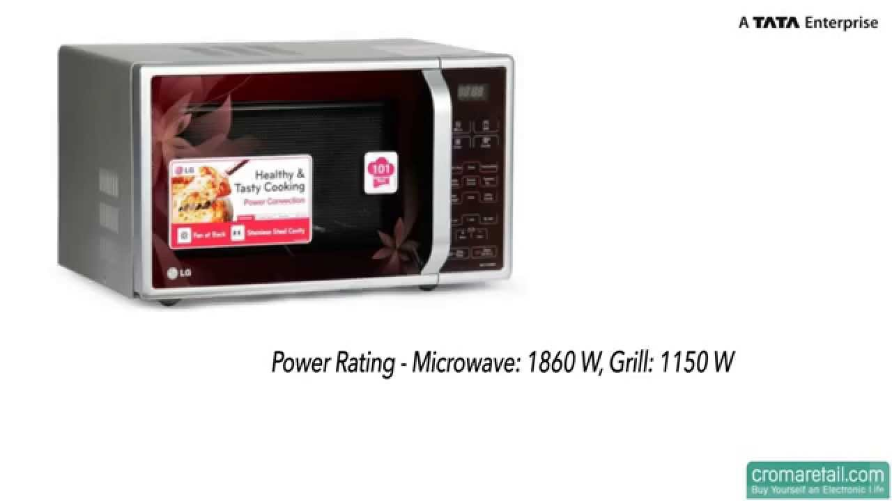 lg 21 litres mc2143bpp convection oven - Microwave Convection Oven