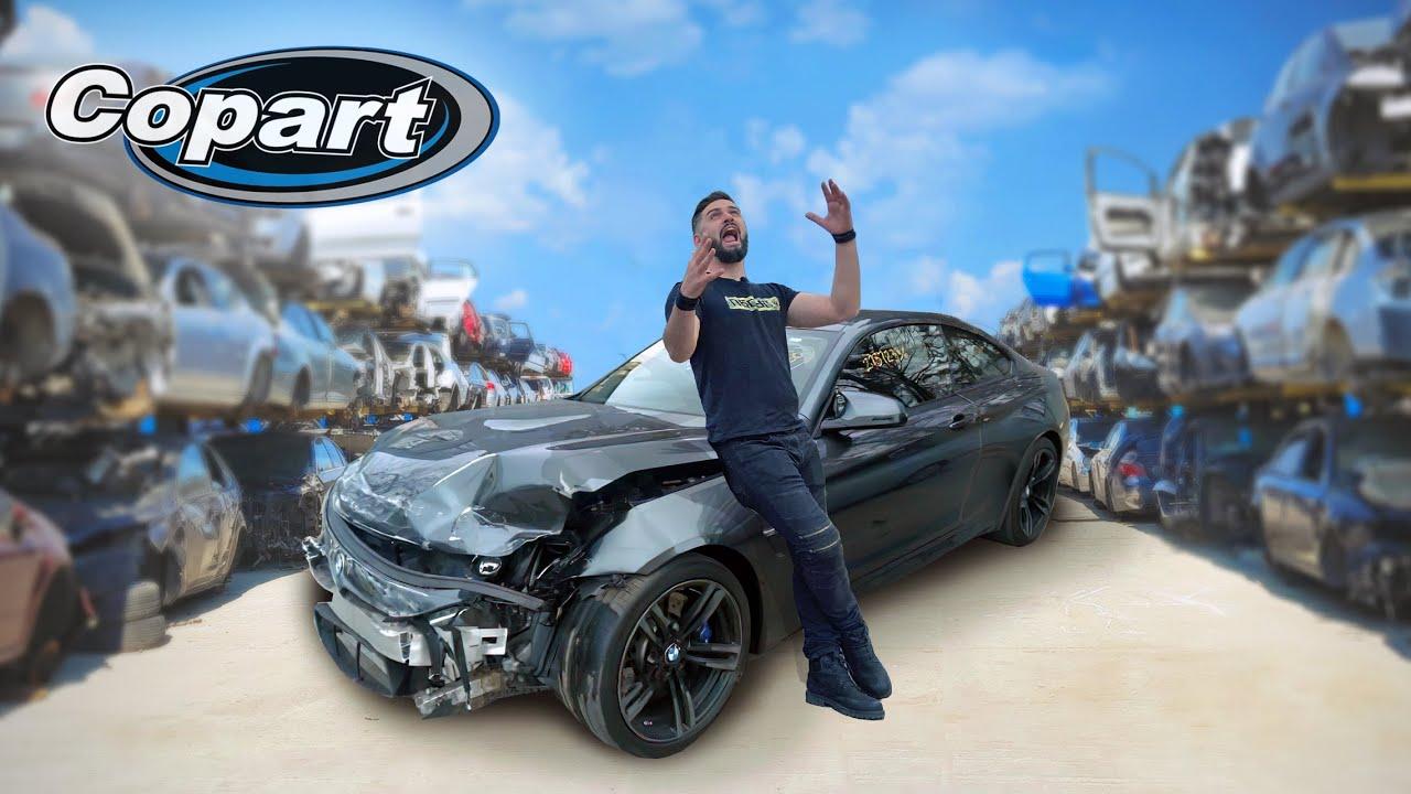 უხეში რეალობა – ვყიდულობთ დალეწილ BMW-ს ამერიკაში Copart-ზე!!!