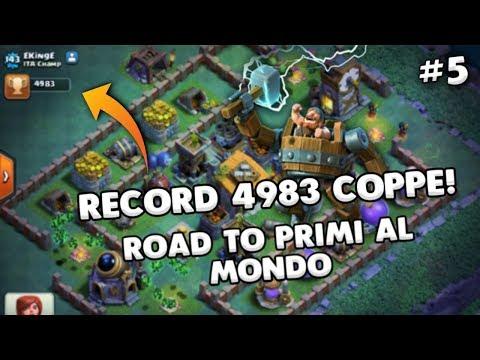 4950 COPPE in LIVE! Scalata al PRIMO al MONDO#5 | Clash of Clans ITA
