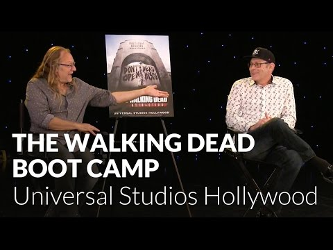 The Walking Dead Attraction Boot Camp with John Murdy and Greg Nicotero