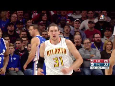 Atlanta Hawks vs Philadelphia 76ers | October 29, 2016 | NBA 2016-17 Season