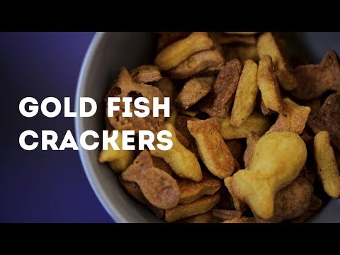 TASTE BUDS - How To Make Cannabis Gold Fish Crackers