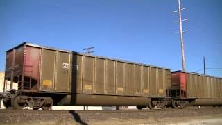 UP 6014 leads a southbound coal train Vinita Oklahoma.