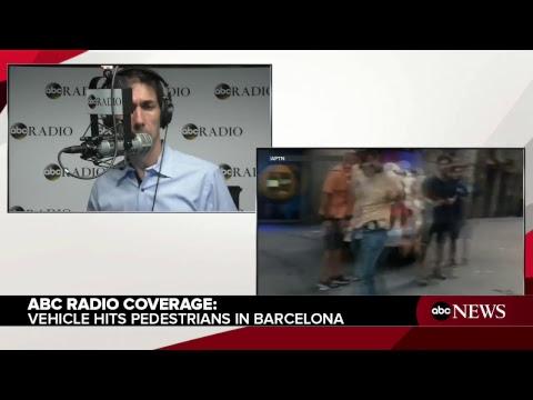 Barcelona: Van hits crowd near barcelona