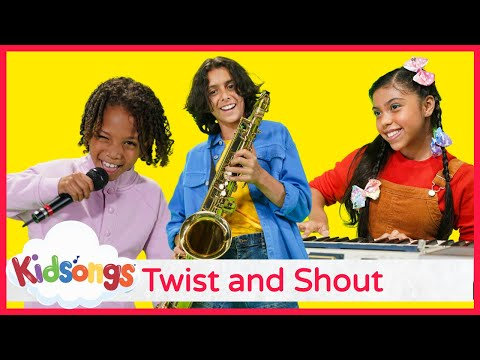 Twist And Shout Kidsongs I Can Dance Dance Songs For