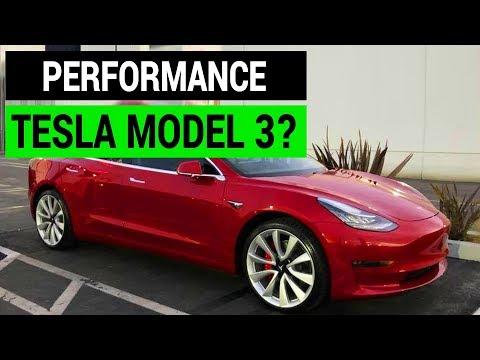 Performance Tesla Model 3?
