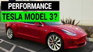 Performance Tesla Model 3?