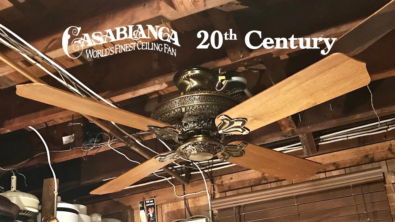 Casablanca 20th Century No Lights You Cool 19th Ceiling Fan Photograph