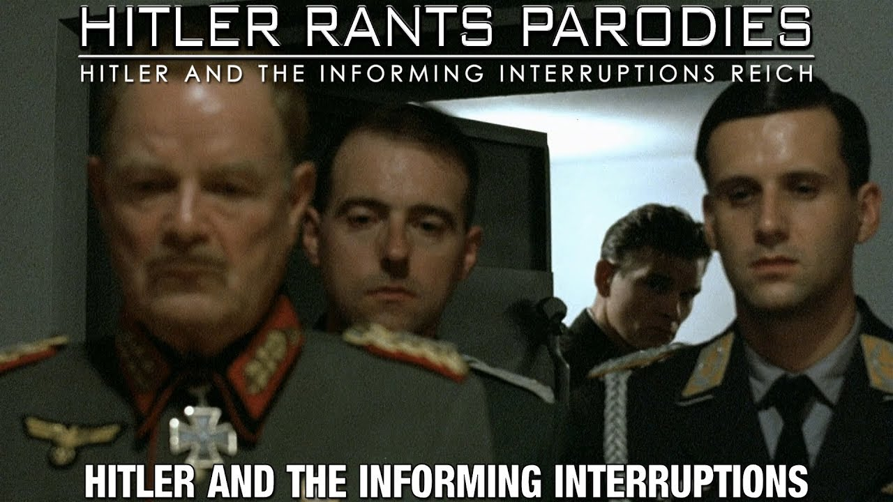 Hitler and the informing interruptions