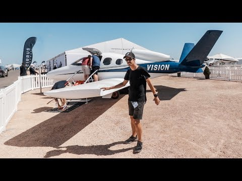 INSIDE a $1.96M Private Jet | Avalon Airshow 2019