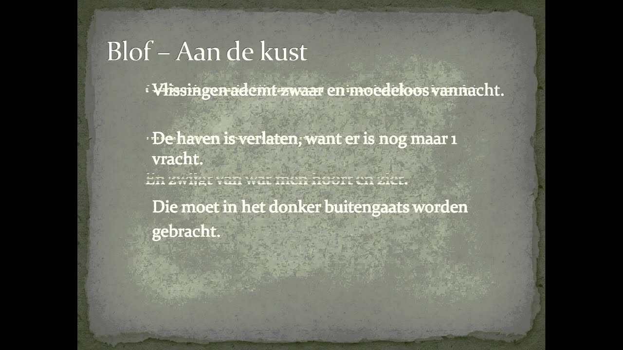 Blof - Aan De Kust Lyrics   MetroLyrics