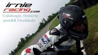 CBR 900RR Calabogie Trackday IOM TT Road Racer Film
