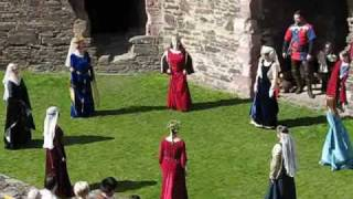 Conwy Castle Medieval Dance