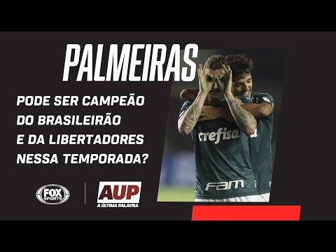 PALMEIRAS PODE SER CAMPEÃO DO BRASILEIRÃO E DA LIBERTADORES NESSA TEMPORADA?  | AUP debate