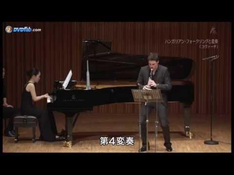 The Clarinotts in Tokyo-Andreas Ottensamer-Bela Kovács: Hommage à Zoltan Kodály