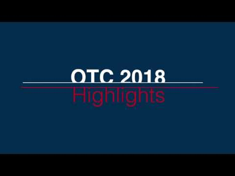 What does being at OTC 2018 mean to you?