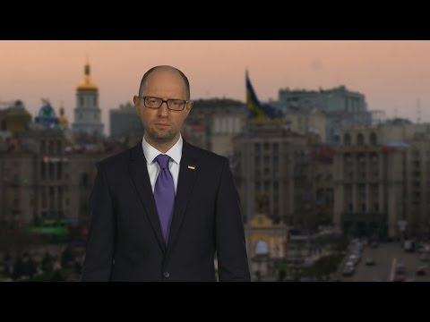 Address of the Prime Minister of Ukraine Arseniy Yatsenyuk