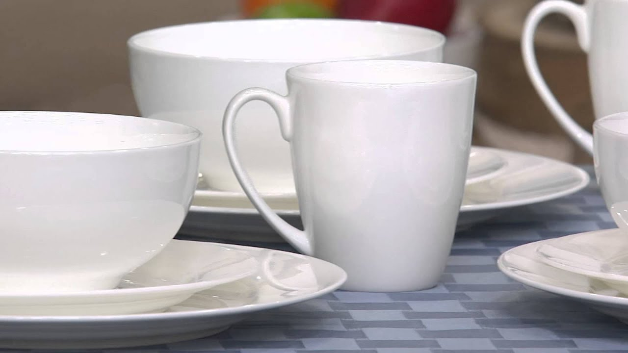 Gorham Avalon 32-pc. Bone China Service for 8 Dinnerware Set with Nancy Hornback : gorham dinnerware - pezcame.com