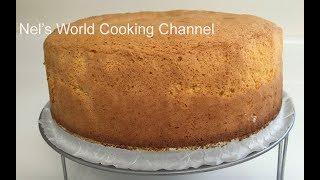 Sponge Cake Recipe - Սպունգ Տորթ - Ձվով Տորթ - Բիսկվիթ - Бисквит - Biskvit