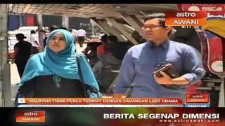 Malaysia tidak perlu terikat dengan cadangan LGBT Obama