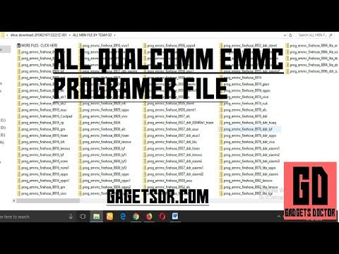 Collection Of All  Qualcomm EMMC Programmer Files   For free