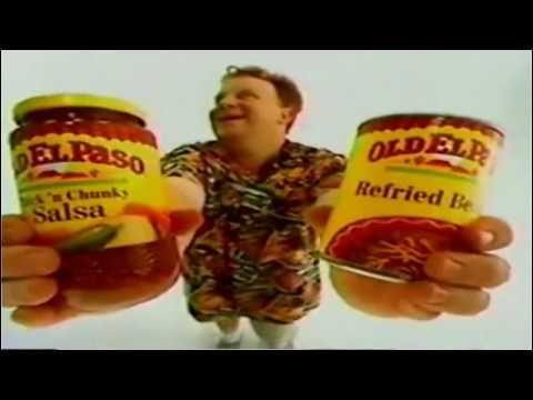 Old El Paso - Nacho Man Commercial - 1990's