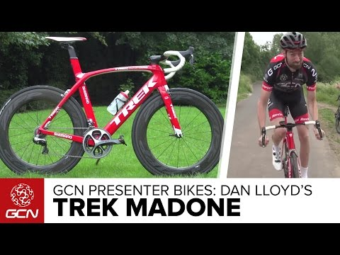 Dan Lloyd's Trek Madone Team Issue | GCN Presenter's Bikes