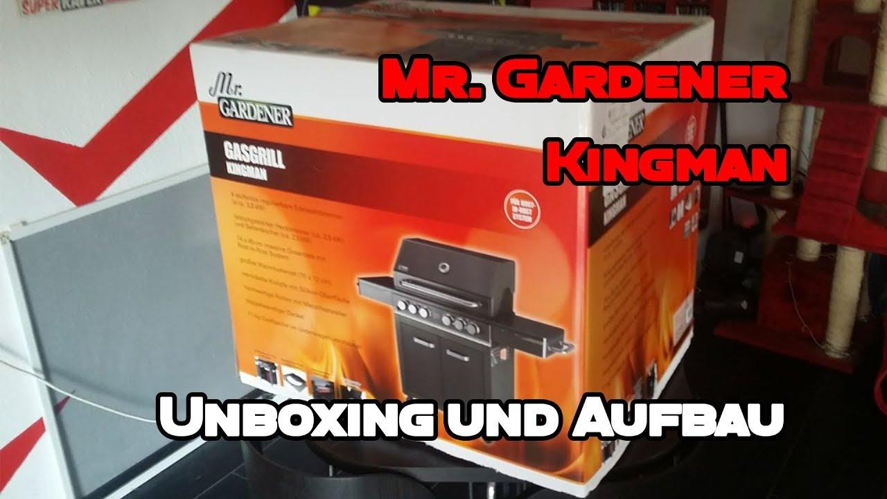 Test Gasgrill Jackson 4 : Mr gardener kingman gasgrill unboxing aufbau und test