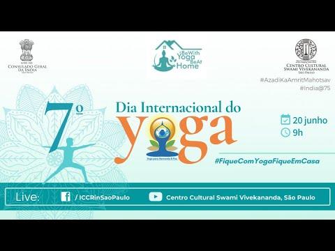 7º Dia Internacional do Yoga #FiqueComYogaFiqueEmCasa