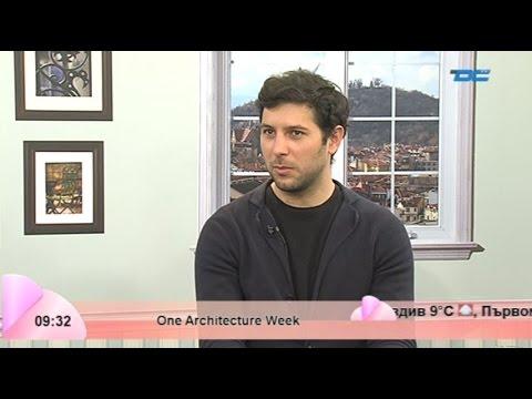 Утро с DCTV - One Architecture Week-Л.Георгиев, защо Пловдив се определя като...М.Генов - 21.04.2015