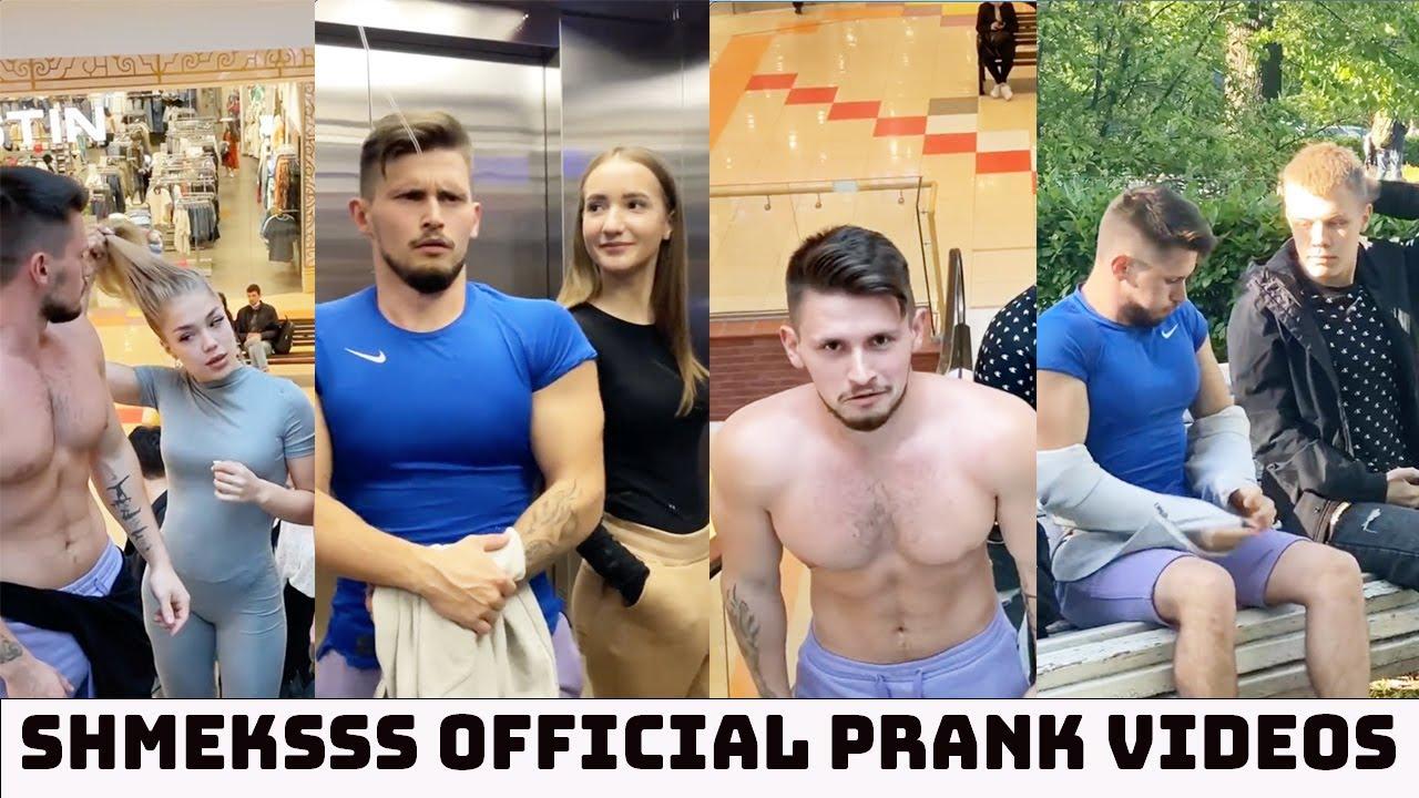 SHMEKSSS OFFICIAL Funny Prank Tiktok Videos | @Shmeksss.Channel  Shirt Ripping Pranks