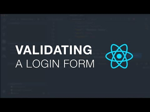 Validating A Login Form In React