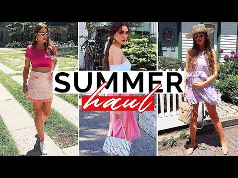 Summer Fashion Finds You NEED In Your Closet   Try-On Haul   Zara, Revolve, Chanel And More!
