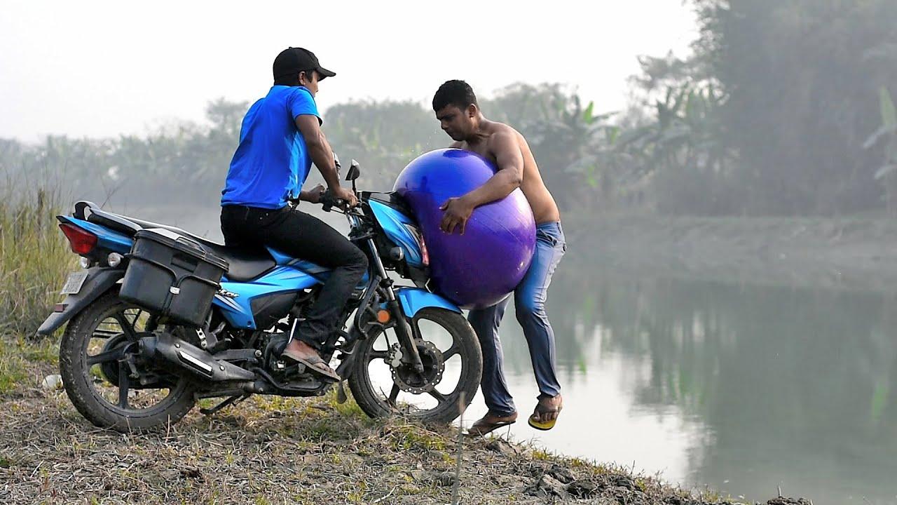 Experiment Bike Vs Man