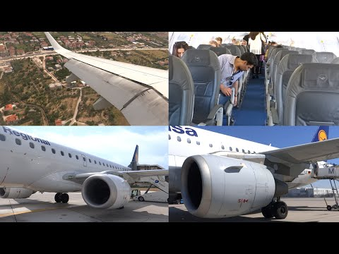 [Tripreport] Hannover - Munich - Split | Lufthansa A319 & E195 | Economy