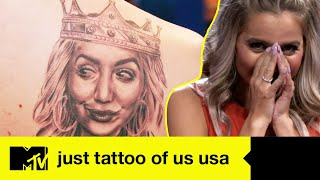 The tattoo of a completely redone barbie | Just Tattoo Of Us USA