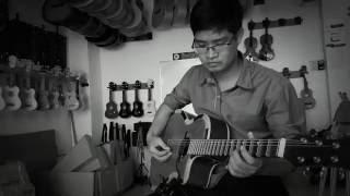 Đàn cổ nhạc phím lõm Cần Thơ HD190 với Pickup QH-6B