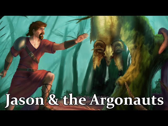 Jason & The Argonauts - The Epic Quest for the Golden Fleece (Greek Mythology)