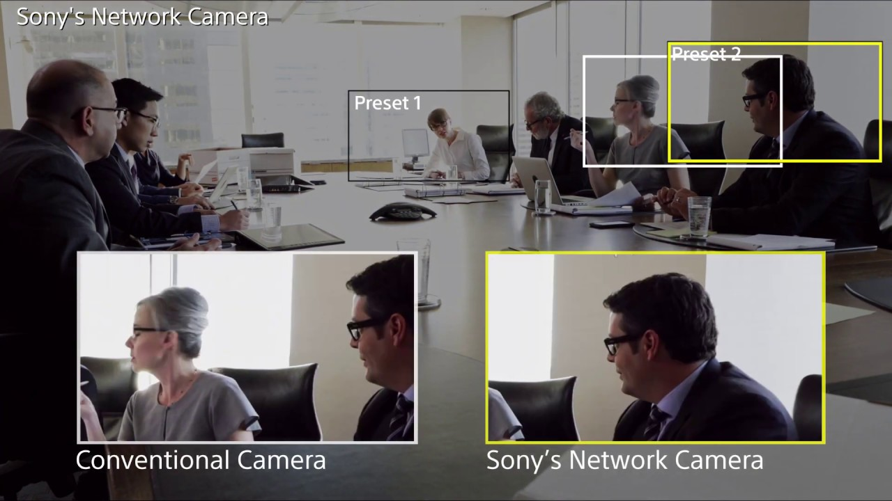 Sony Ptz Camera With High Speed Pan Youtube