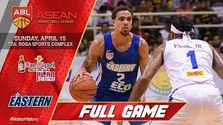 San Miguel Alab Pilipinas vs Hong Kong Eastern | FULL GAME | 2017-2018 ASEAN Basketball League