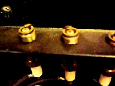 Bosch Zr6 Magneto Running On A Test Bench Youtube