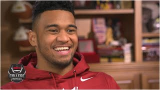 Tua Tagovailoa evaluates the risk-reward of joining 2020 NFL draft | College Football on ESPN