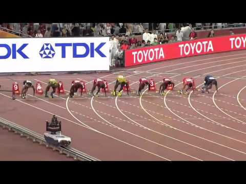 Usain Bolt 9 79 Defeats Justin Gatlin 100m Final IAAF World Champs 2015