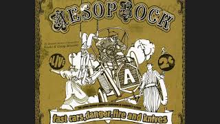 Aesop Rock - Fast Cars, Danger, Fire and Knives [FULL ALBUM]