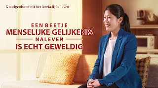 'Een beetje menselijke gelijkenis naleven is echt geweldig' (Nederlandse Ondertitels)